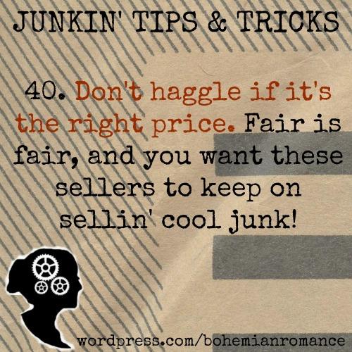 Junkin Tips 40